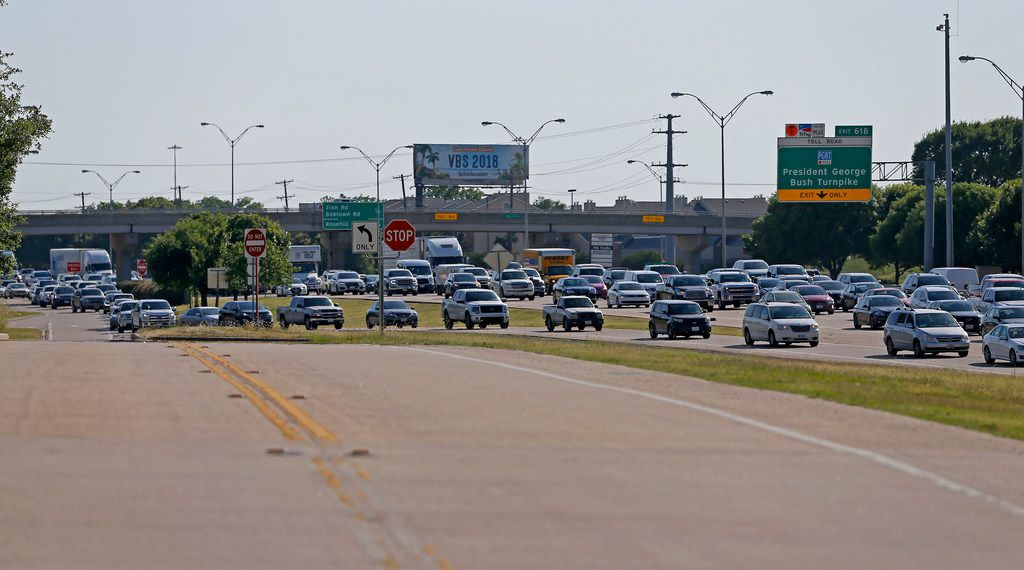 Rowlett, TxDOT hope I-30 frontage-road project will ease