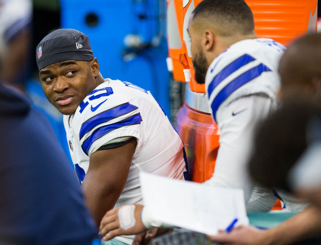 the latest 8869c ffbf6 As Cowboys wait out NFL draft's first round, Dallas chooses ...