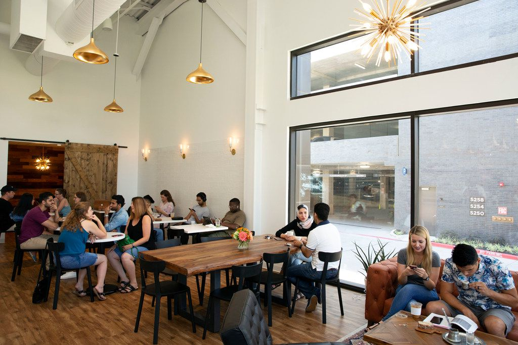 Stylish Coffee Shop Pax Beneficia Has Opened In Las Colinas