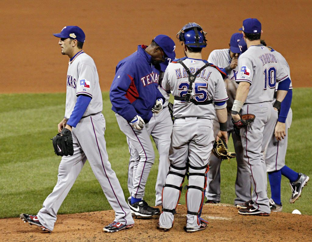 Where are the members of the 2011 Rangers World Series team now?