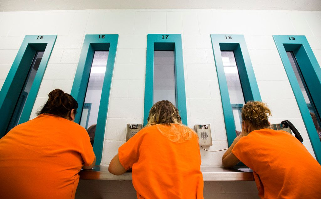 More women are jailed in Texas, even though arrests have