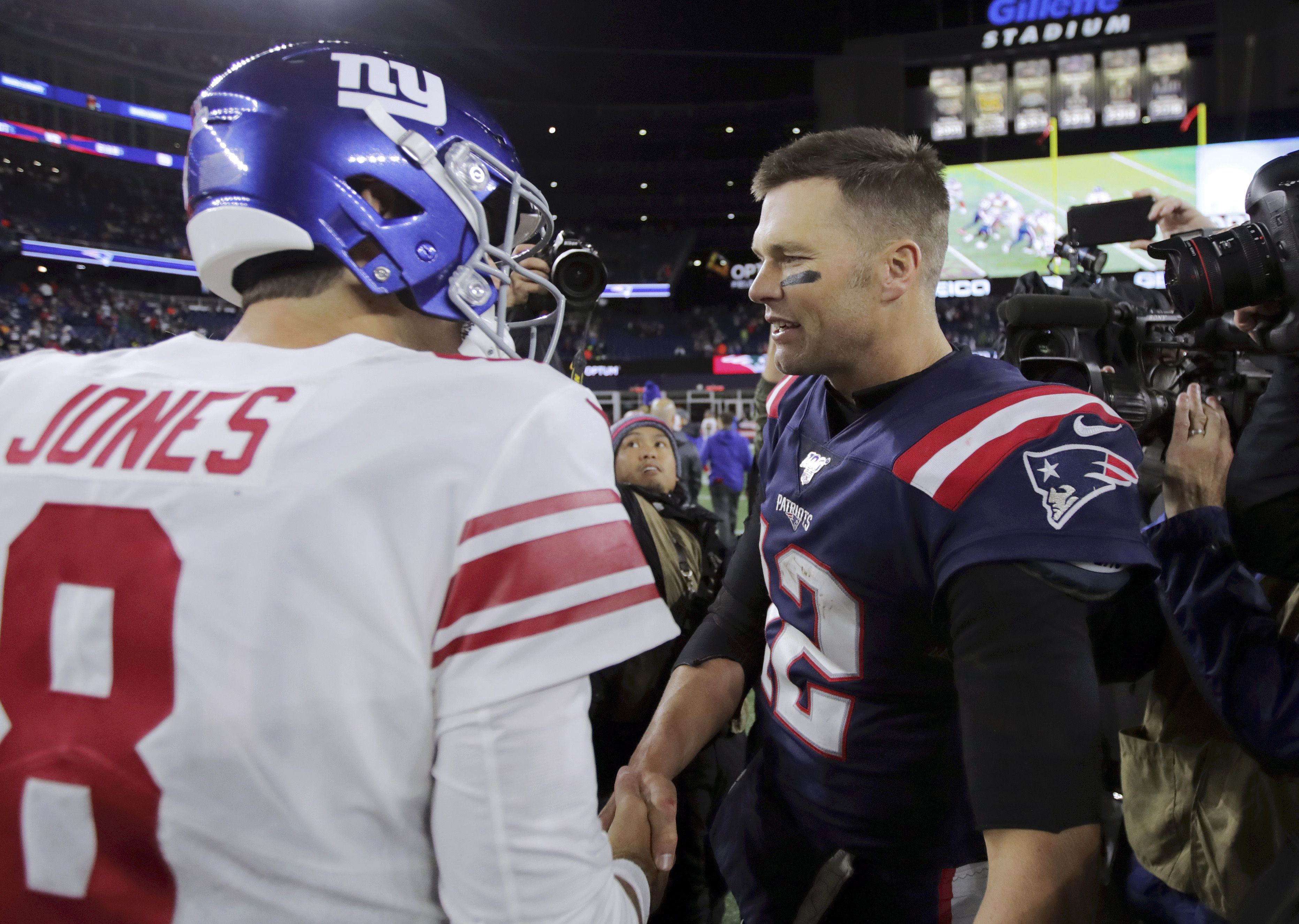 Nfl Schedule 2020 Here Is Giants Full Slate Week 1 On Monday Night Football When Do Tom Brady S Buccaneers Come To Metlife Dates Times For All Games Nj Com