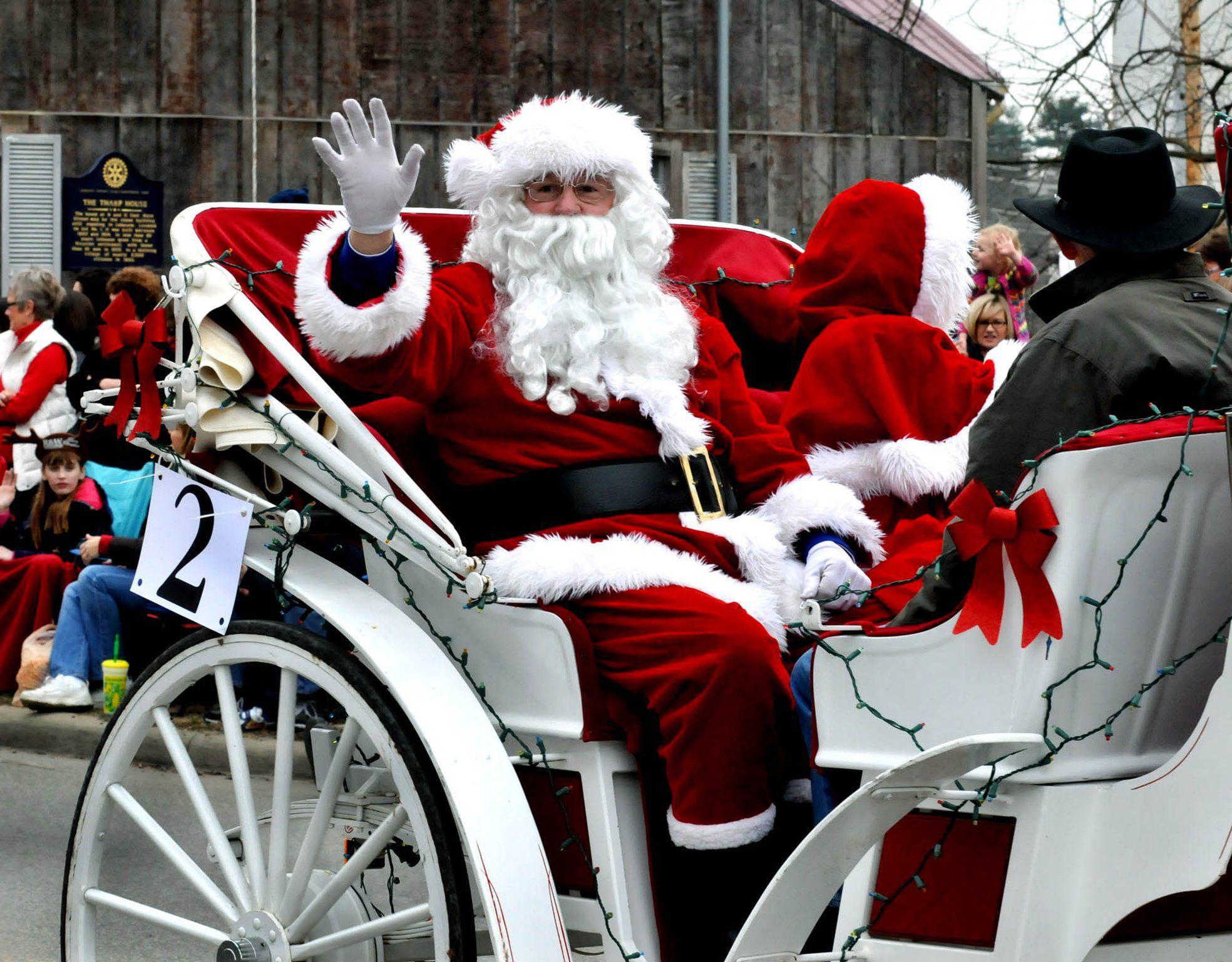 Lebananon Carriage Parade And Christmas Festival Lebanon Oh