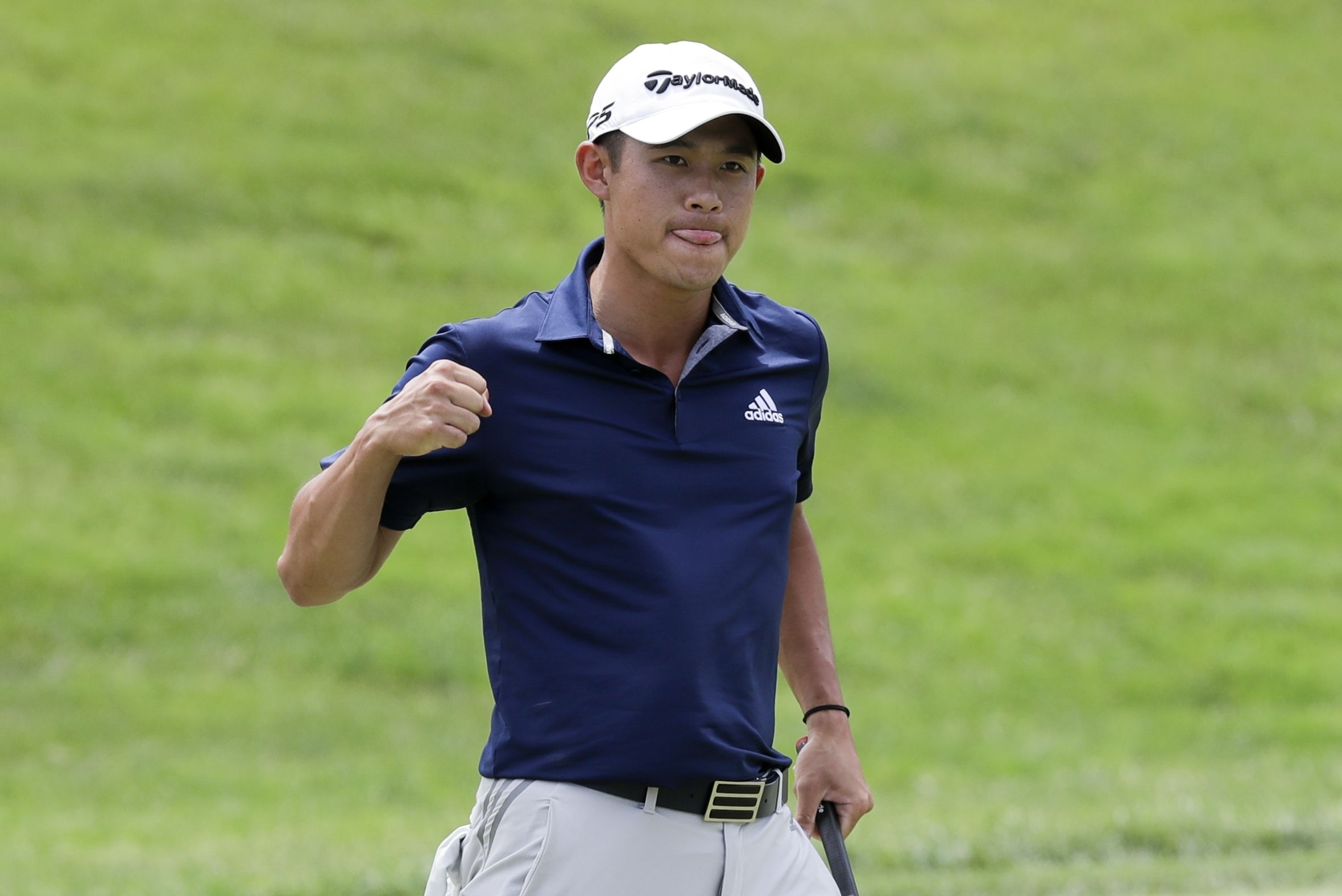 Collin Morikawa Answers Three Shot Deficit 50 Footer To Win In Playoff At Muirfield The Boston Globe