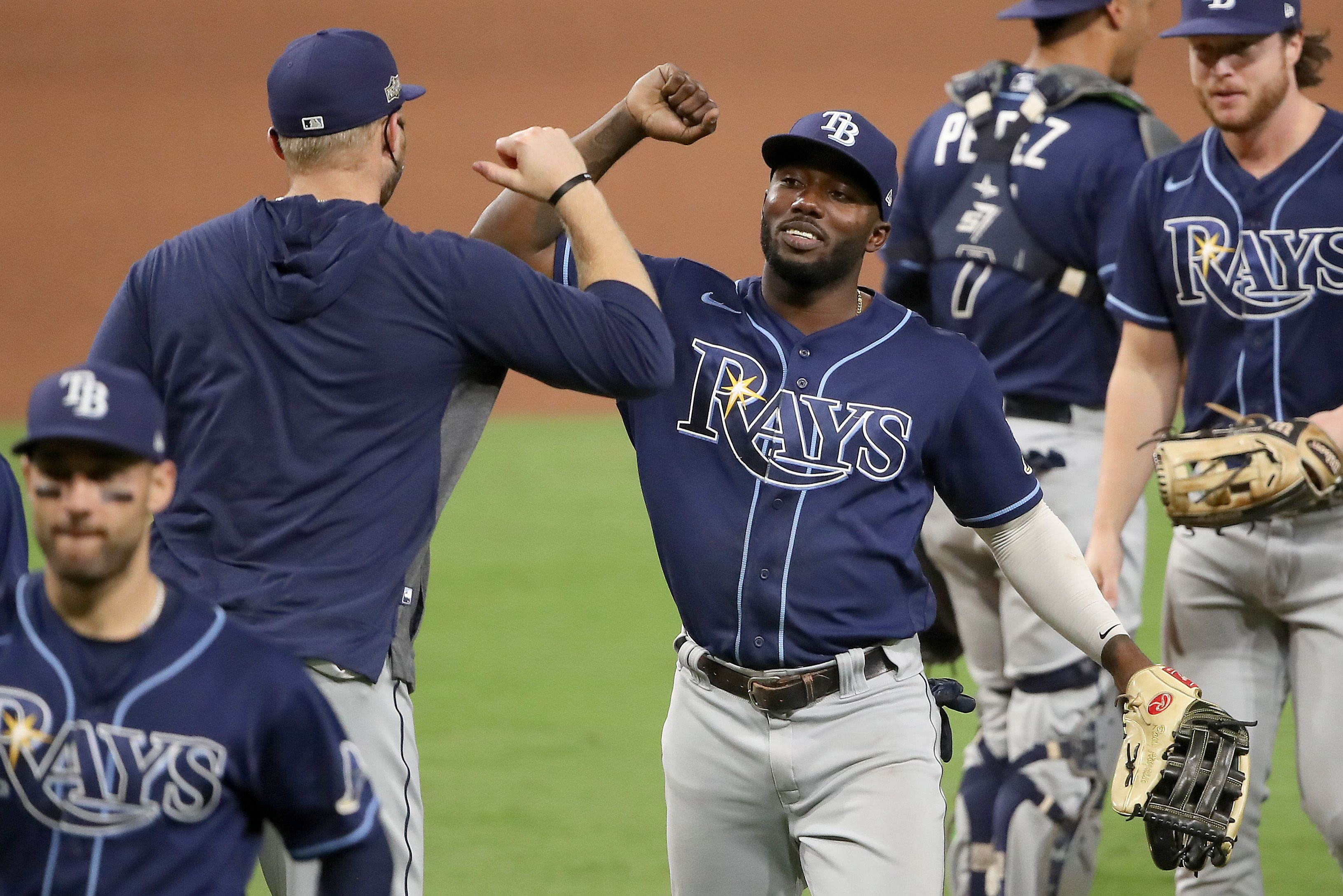 randy arozarena stays hot rays push yankees to brink in al division series the boston globe the boston globe