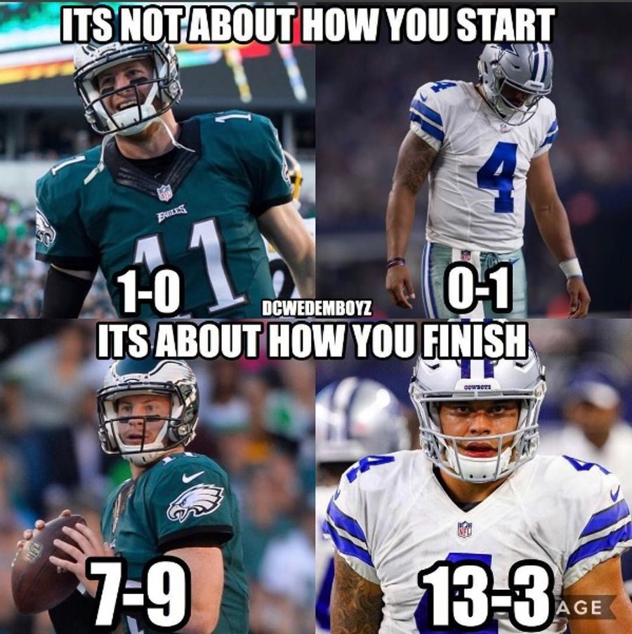 Best Memes Bashing The Cowboys Division Rival Philadelphia Eagles