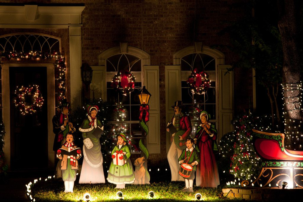 West Elm Christmas Display.The Top Places To See Christmas Lights In Dallas Fort Worth