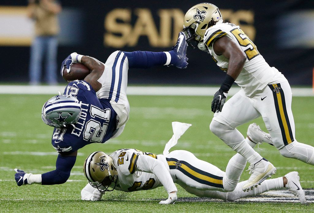 Grading The Cowboys Why Dallas Rush Offense Gets The Worst