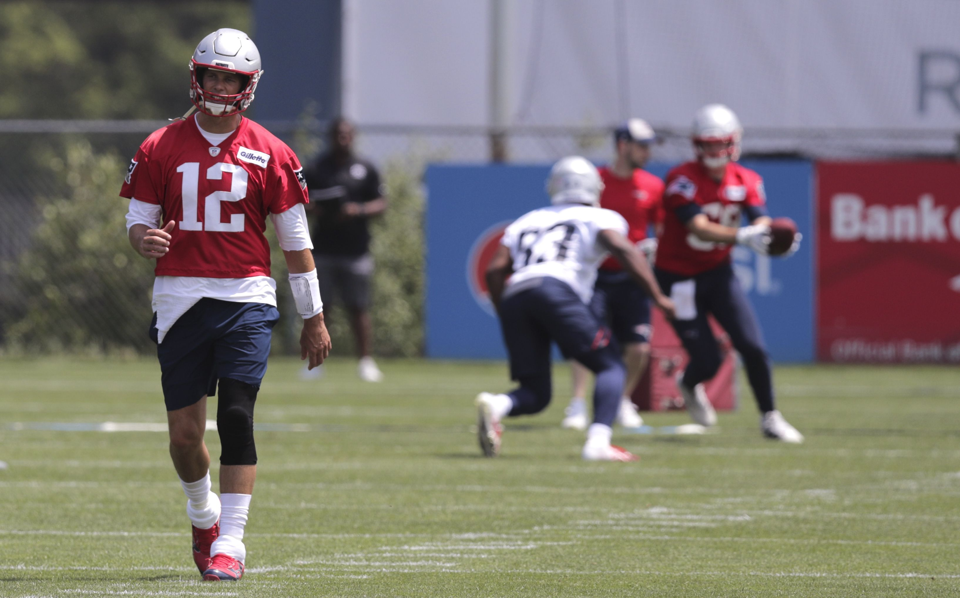 Tom Brady sitting out Patriots' second training camp practice ...