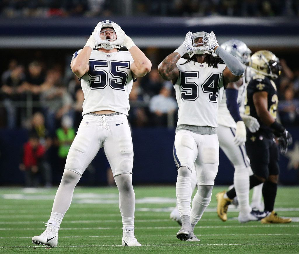 buy online ce23b b5c8a Why does Cowboys LB Leighton Vander Esch howl like a wolf to ...