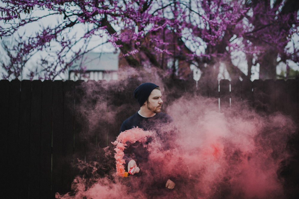 How to safely use smoke bombs in portraits | Popular Photography