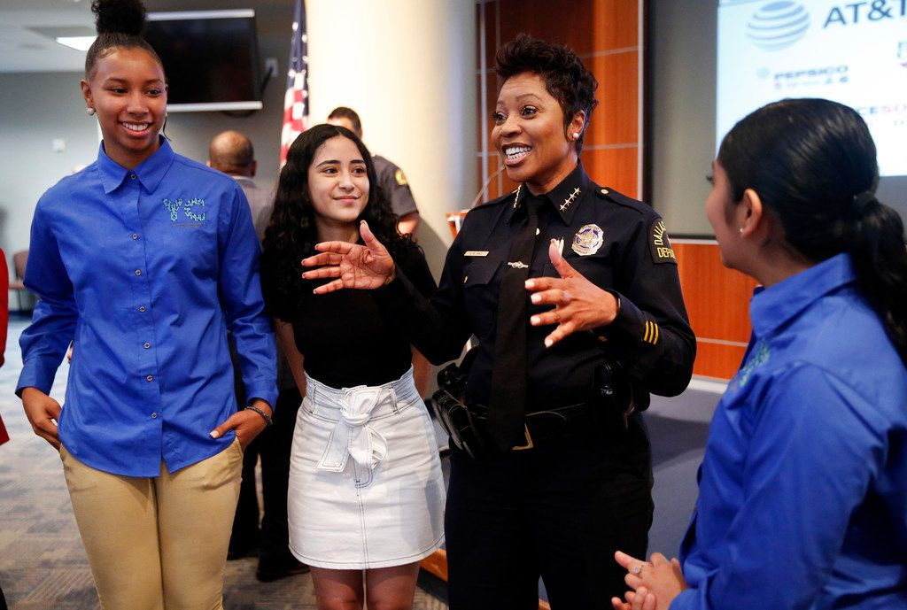 Here's why Dallas' police chief created a summer jobs