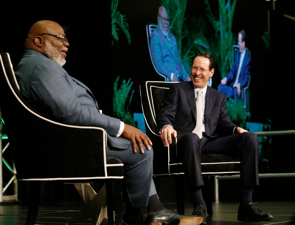 After nudge from T D  Jakes, AT&T CEO hires formerly