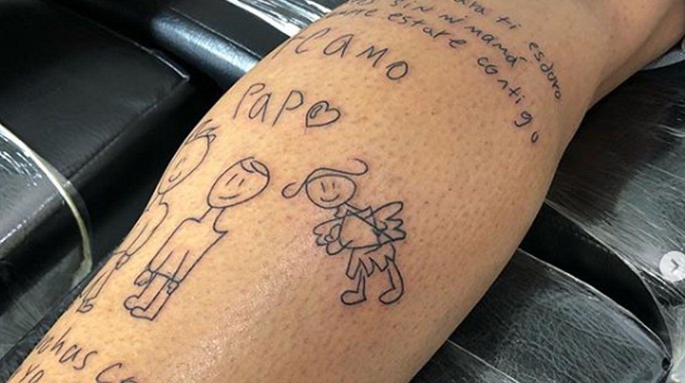 Siempre Estare Contigo Papa La Historia Detras Del Tatuaje De Un Arquero Que Emociona Al Mundo Tn