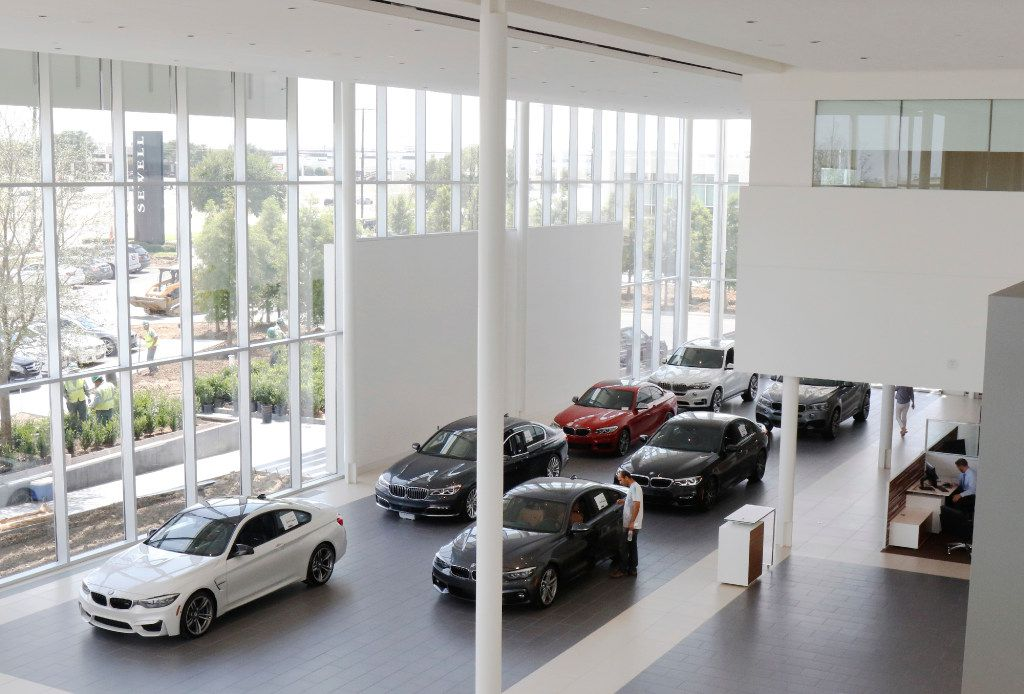 Carl Sewell Places Bet On Texas Market With Huge New Bmw Dealership In Grapevine