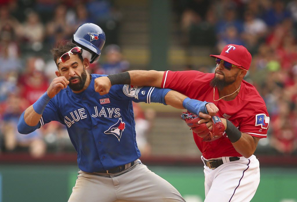 A Year Later Rougned Odor Has Not Allowed Jose Bautista Punch To Define Him As A Player