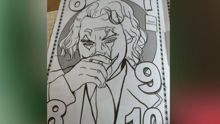 Facebook Viral Joker Inspira Libro Para Colorear