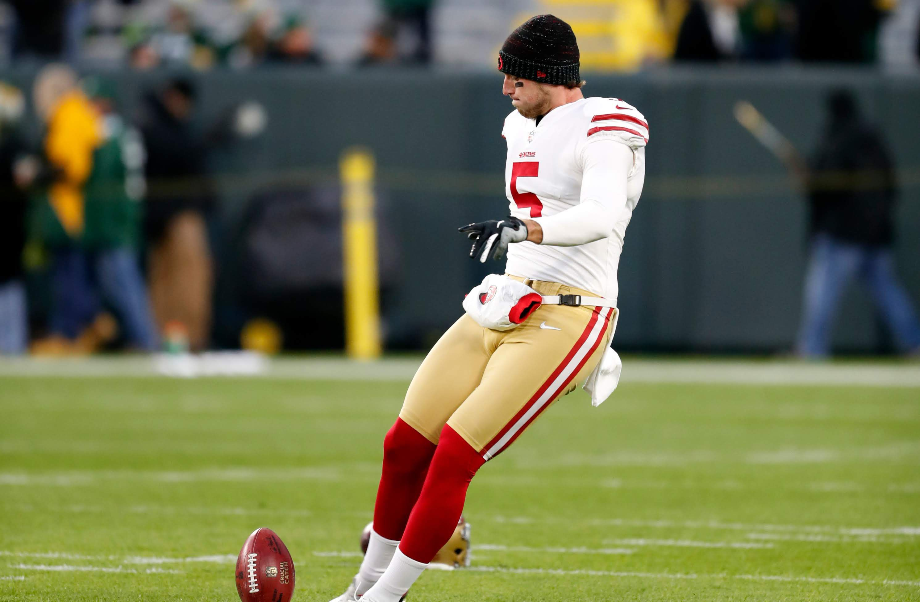 Punter Bradley Pinion feels at home in Tampa Bay