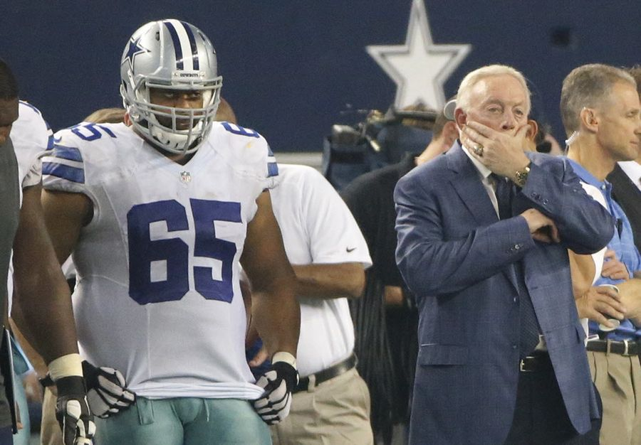 sale retailer 6da93 75b06 Ron Leary sends not-so-subtle message to Cowboys on Twitter ...