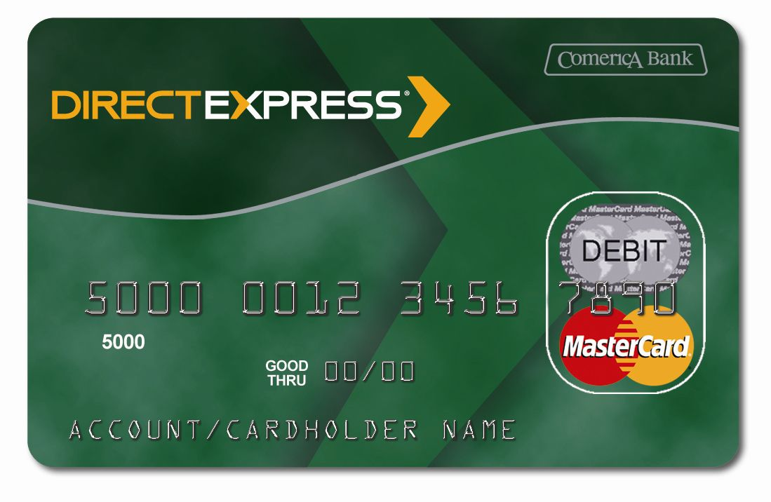 Direct Express, a U.S. government program that puts benefits on a