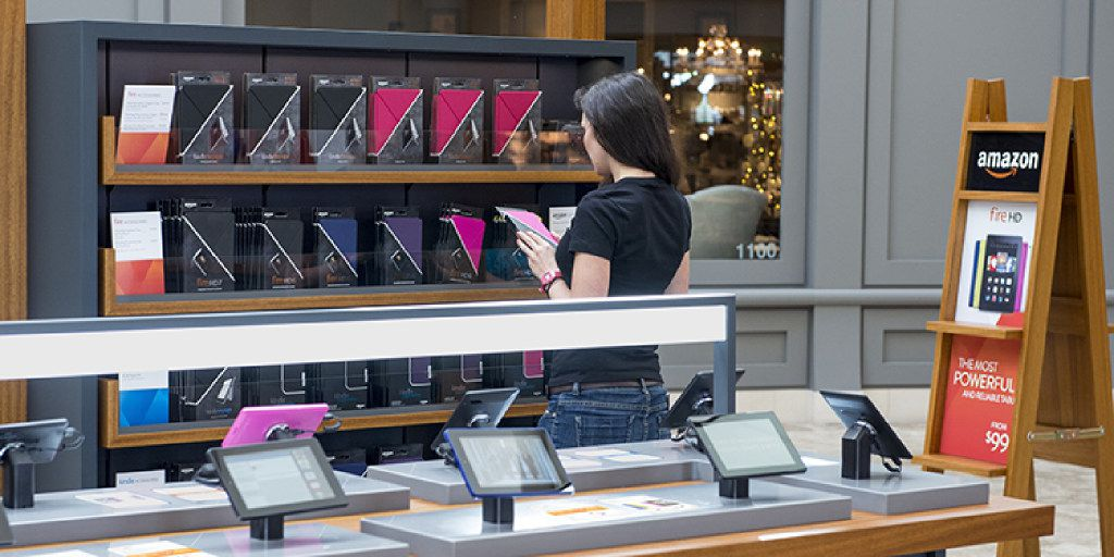 Amazon is closing its 87 electronics Pop-Up kiosks