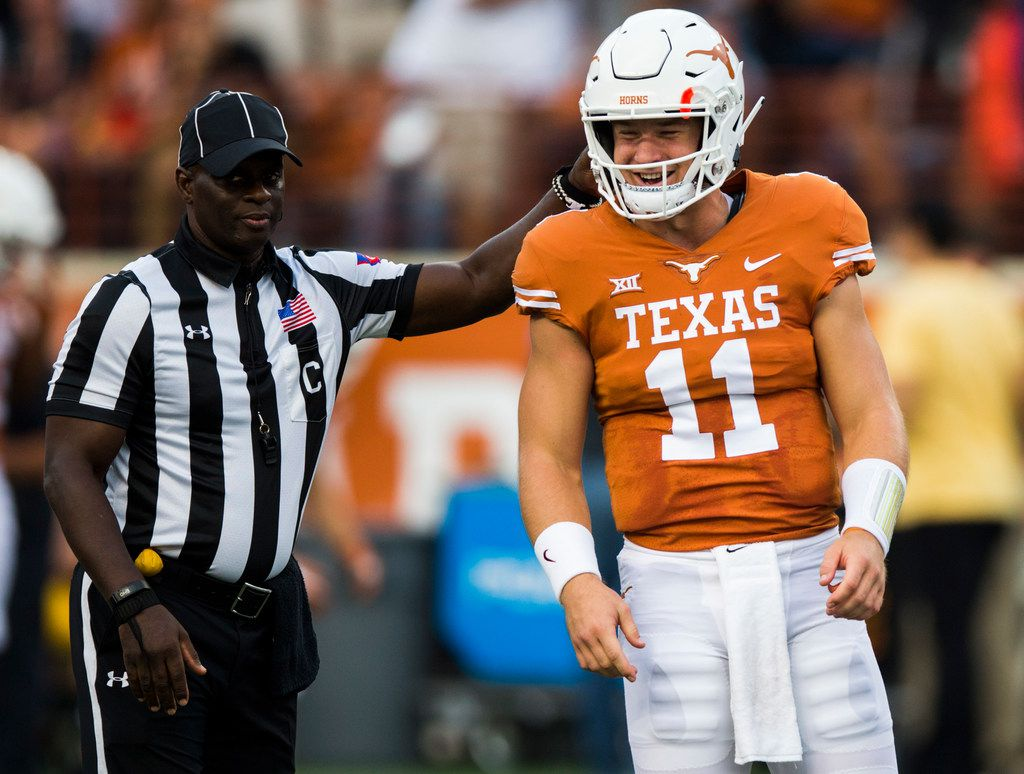 Texas Qb Sam Ehlinger To Twitter Critics In The Athletic Profile I Don T Really Care What Homeboy With Six Followers Has To Say