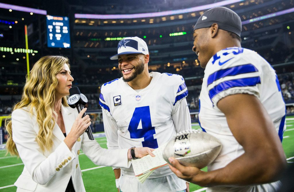 buy popular 56c35 d8ff3 Cowboys' Dak Prescott, Amari Cooper to replace Saints' Drew ...