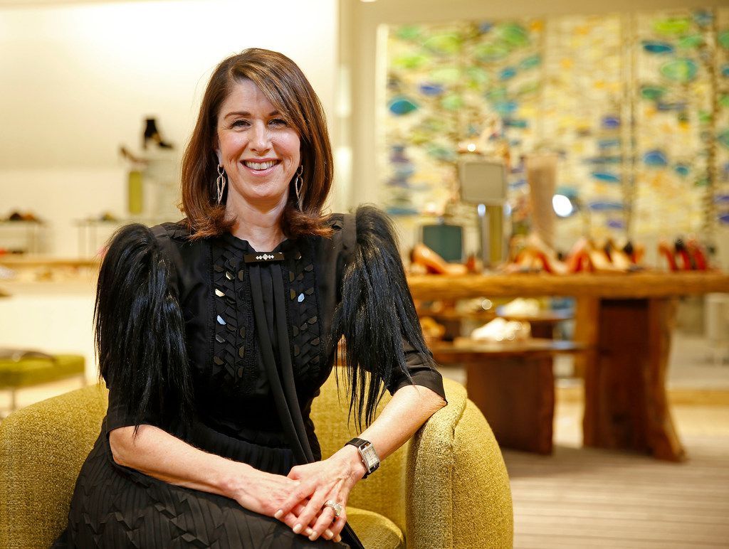 after 33 years at neiman marcus ceo karen katz contemplates life in comfortable shoes dallas morning news