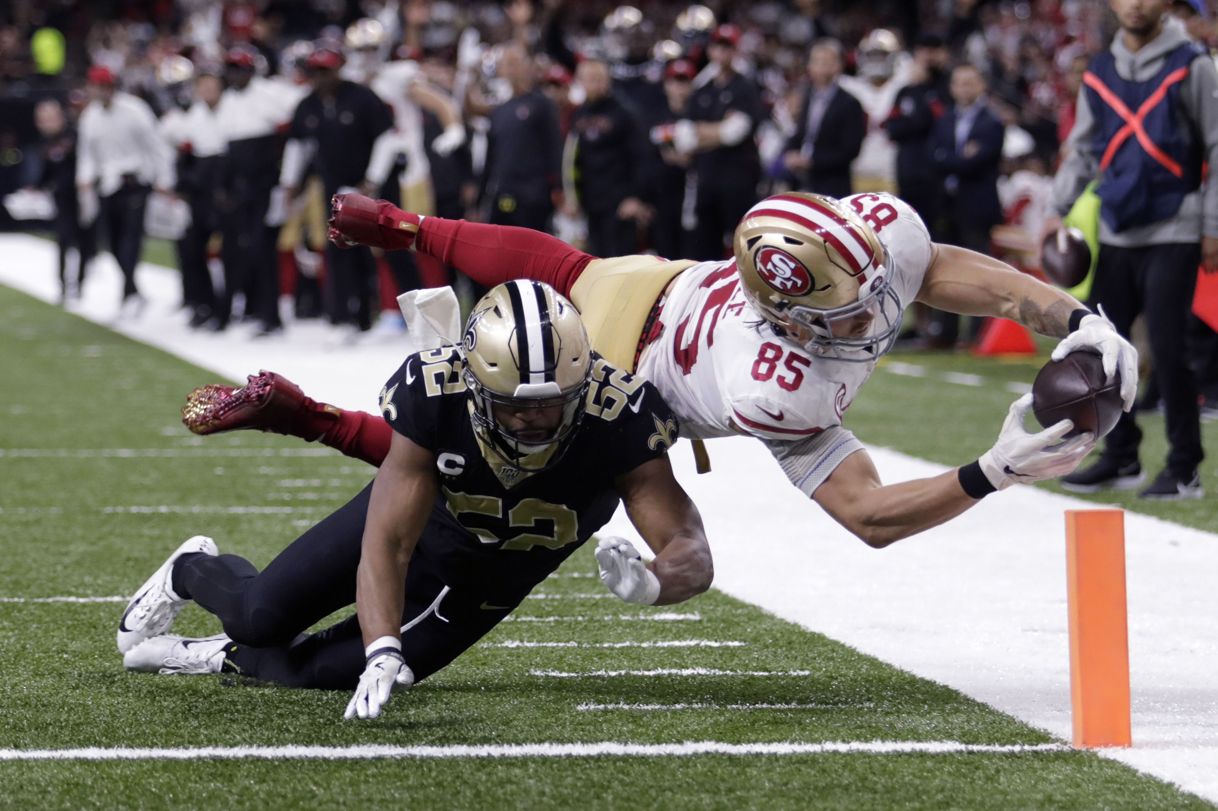 San Francisco 49ers Kick Field Goal As Time Expires To