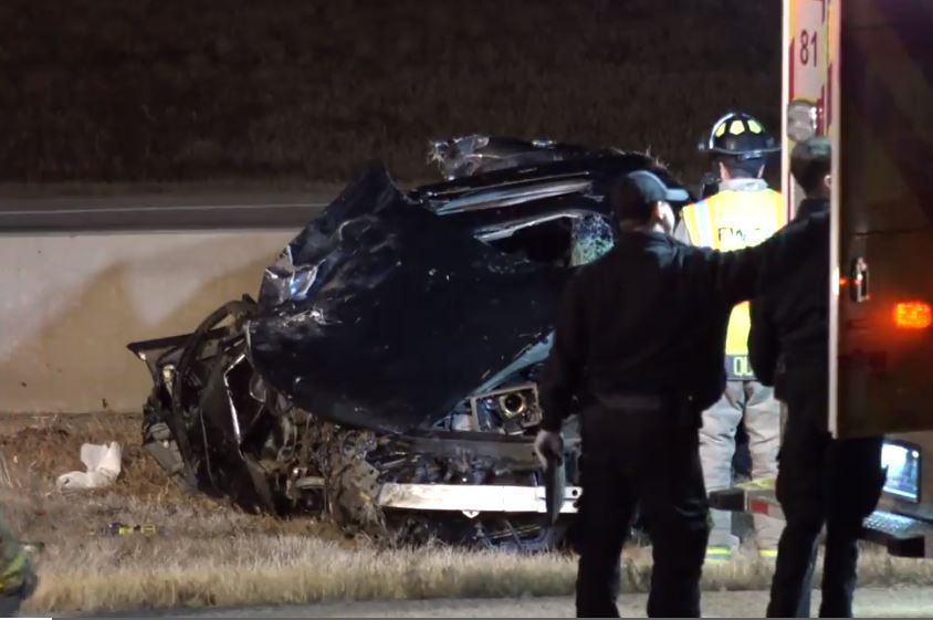 Driver killed after car flips multiple times on I-35W in