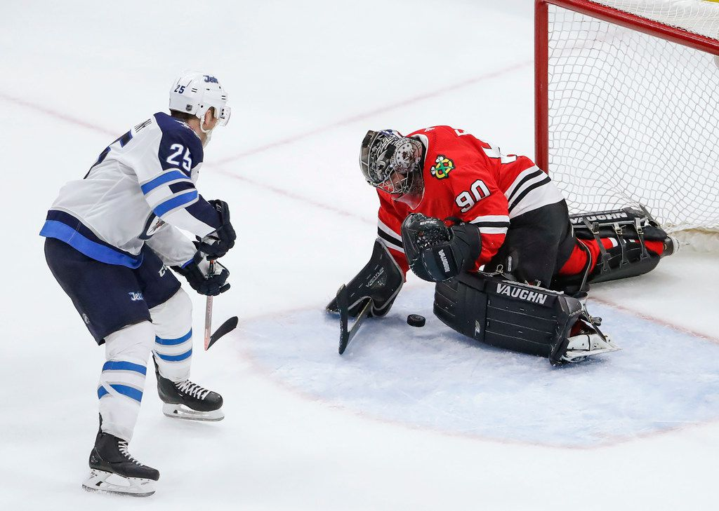 huge discount 65647 28ed9 From 10-key to playoff glory: Accountant-turned-goalie helps ...
