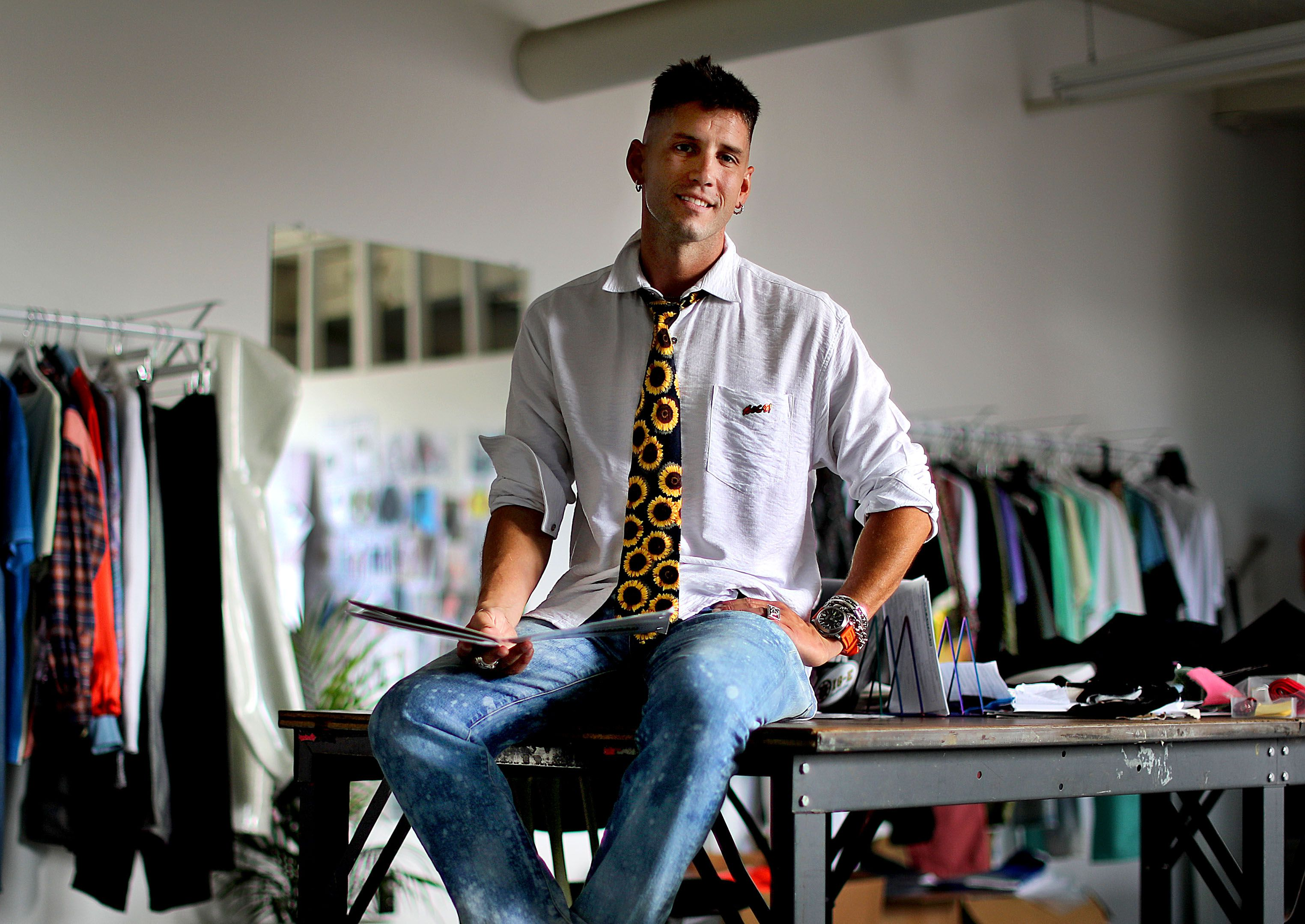 He Gets It From His Mutha Alex Bossi Has Style The Boston Globe