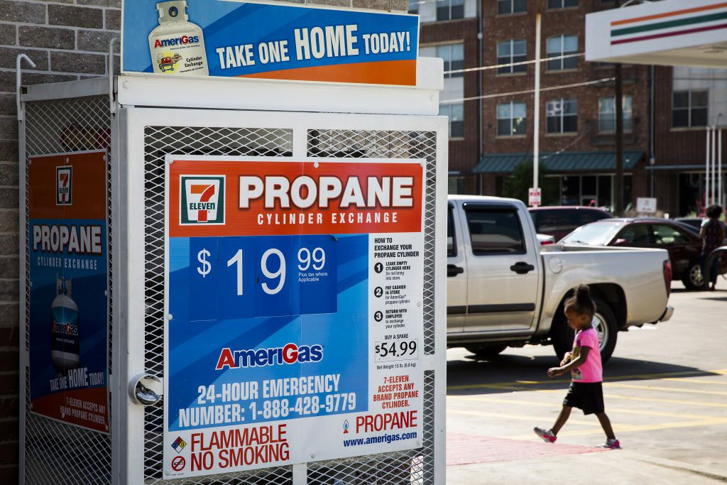 How wise Texas backyard grillers purchase propane a little