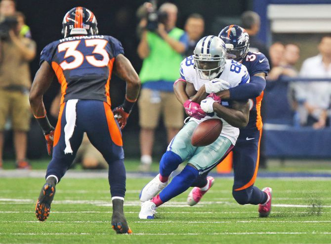 Dallas Cowboys Dez Bryant Cold Weather Was Fumble Issue