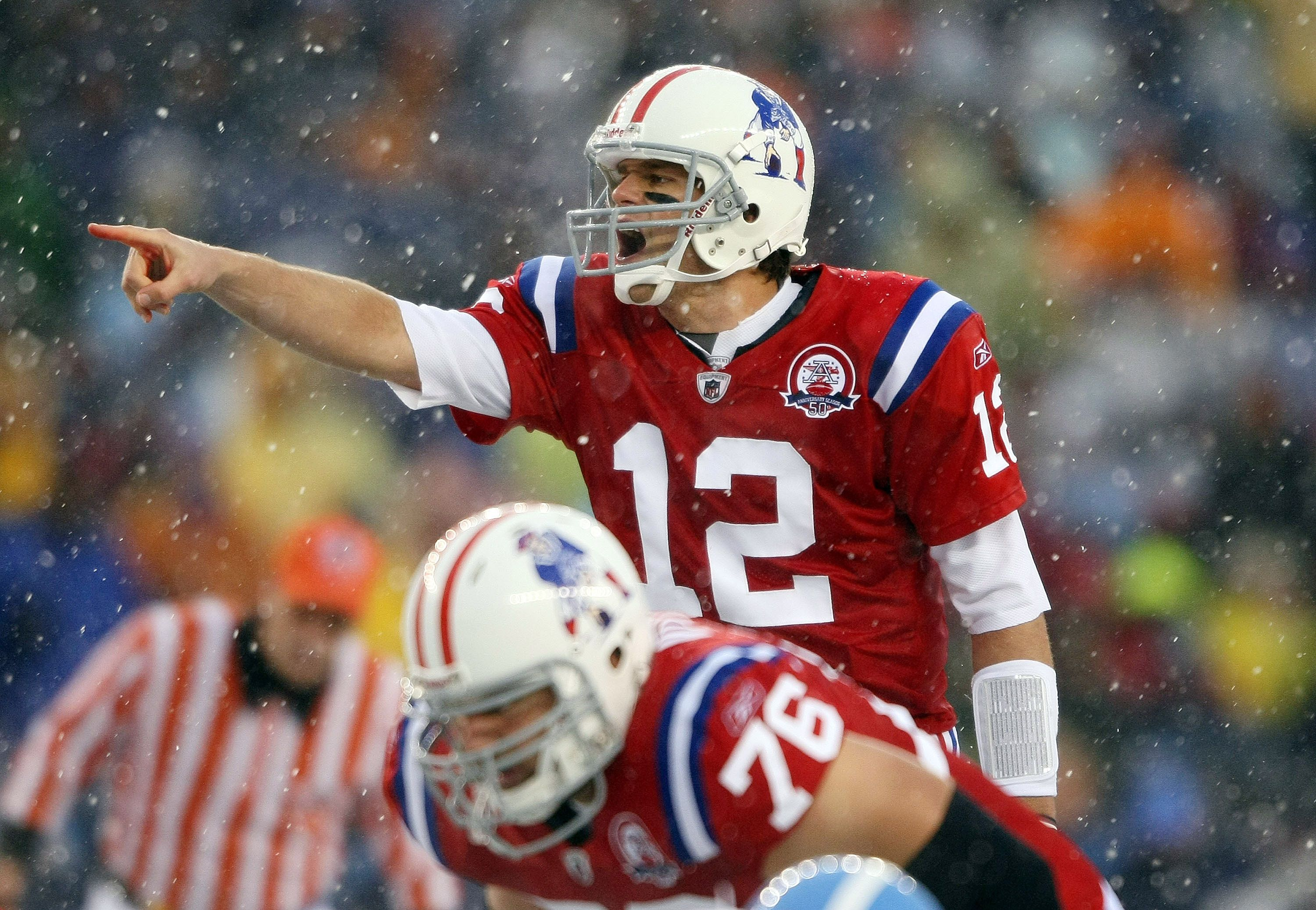Could Patriots' red throwback jerseys with 'Pat Patriot' return in ...