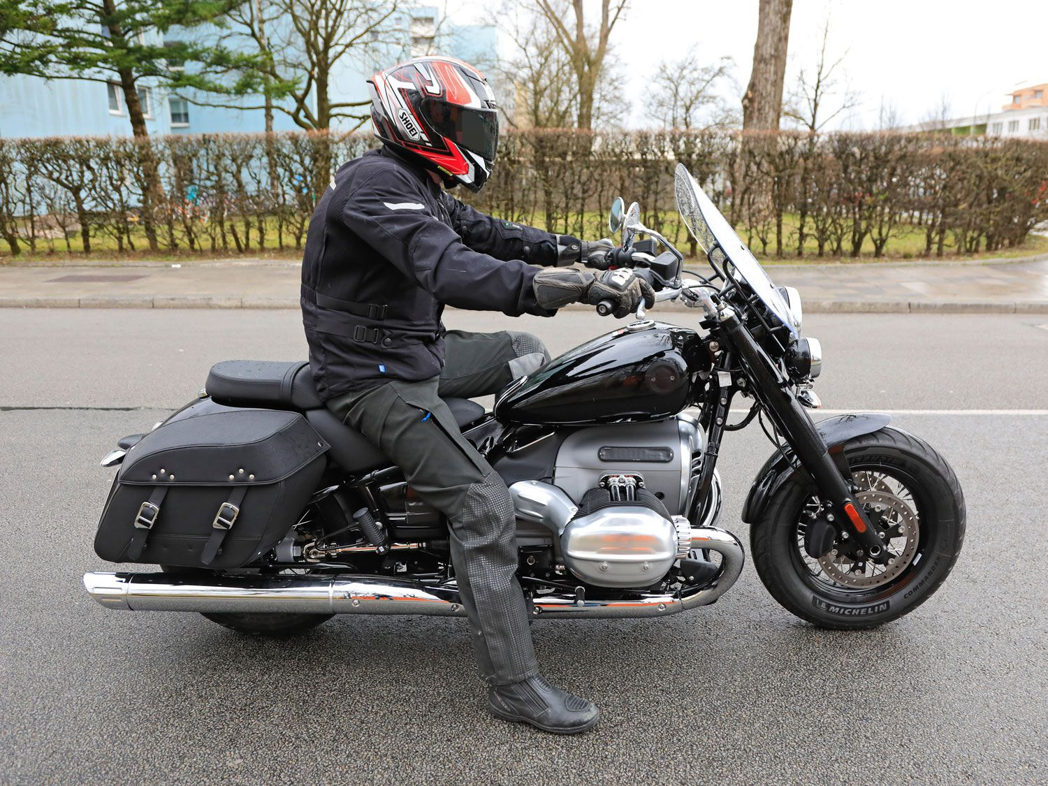 Bmw R 1800 Basic Cruiser Spied Testing Motorcyclist