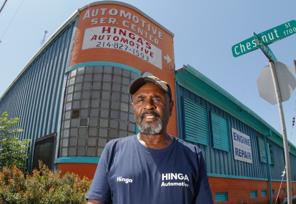 After city forced him to move, Dallas auto mechanic still