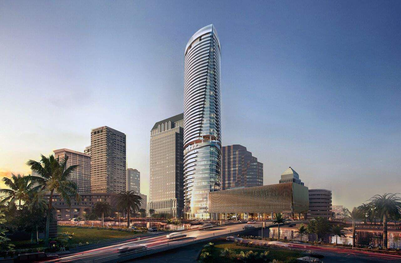 Here's your first look at what will be Riverwalk Place