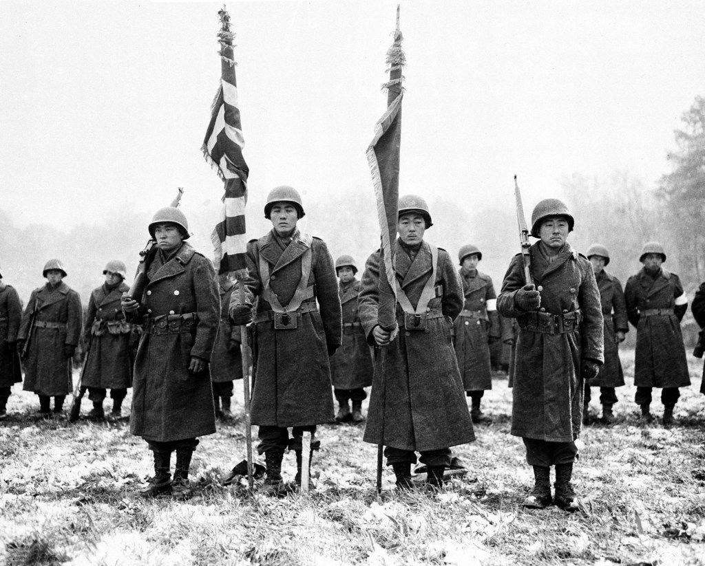 75 years ago a group of soldiers headed to battle to prove