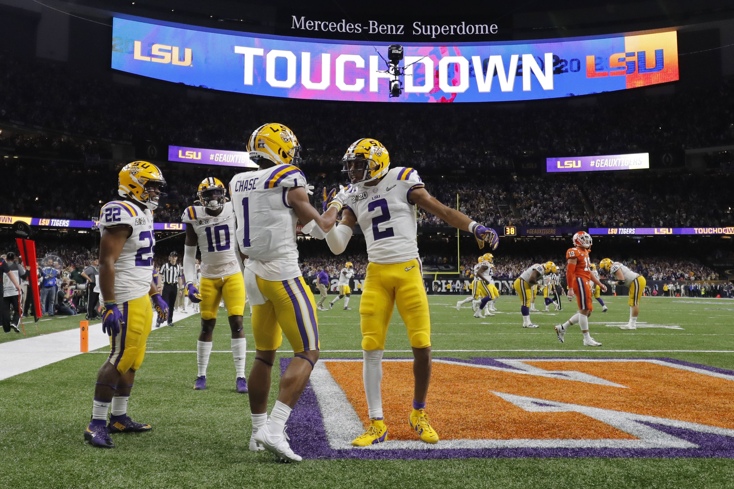 Lsu Tops Clemson 42 25 To Win College Football Playoff National Championship Game Recap Video Highlights Oregonlive Com
