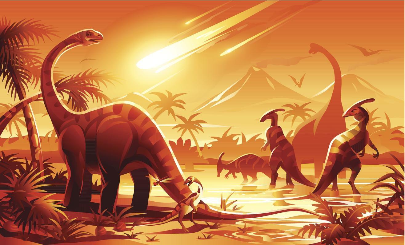 Meteorito Que Aniquilo A Dinosaurios Habria Creado Volcanes El investigador estadounidense steve self analiza una de las formaciones estudiadas, en pune (india). dallas morning news