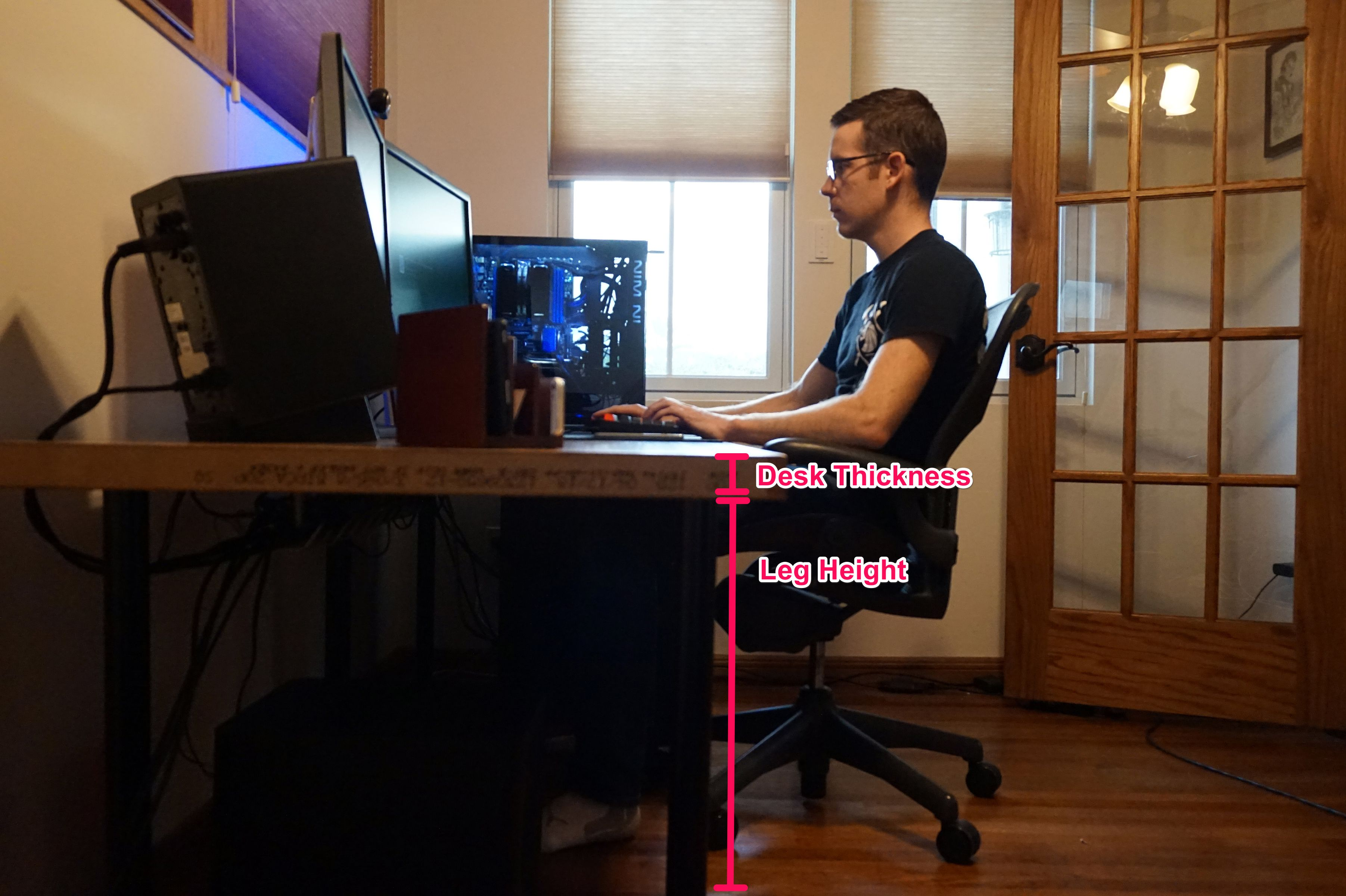 - Save Hundreds Of Dollars On A Custom Computer Desk—by Building It