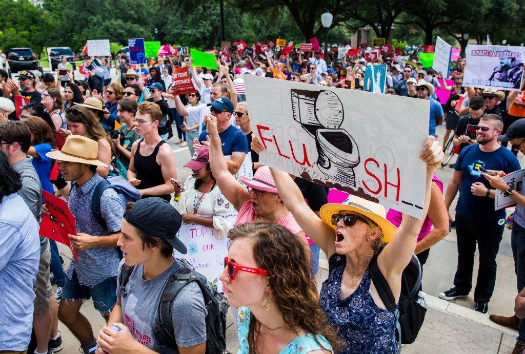 Will The Bathroom Bill Return Next Year Lgbtq Texans May Fight
