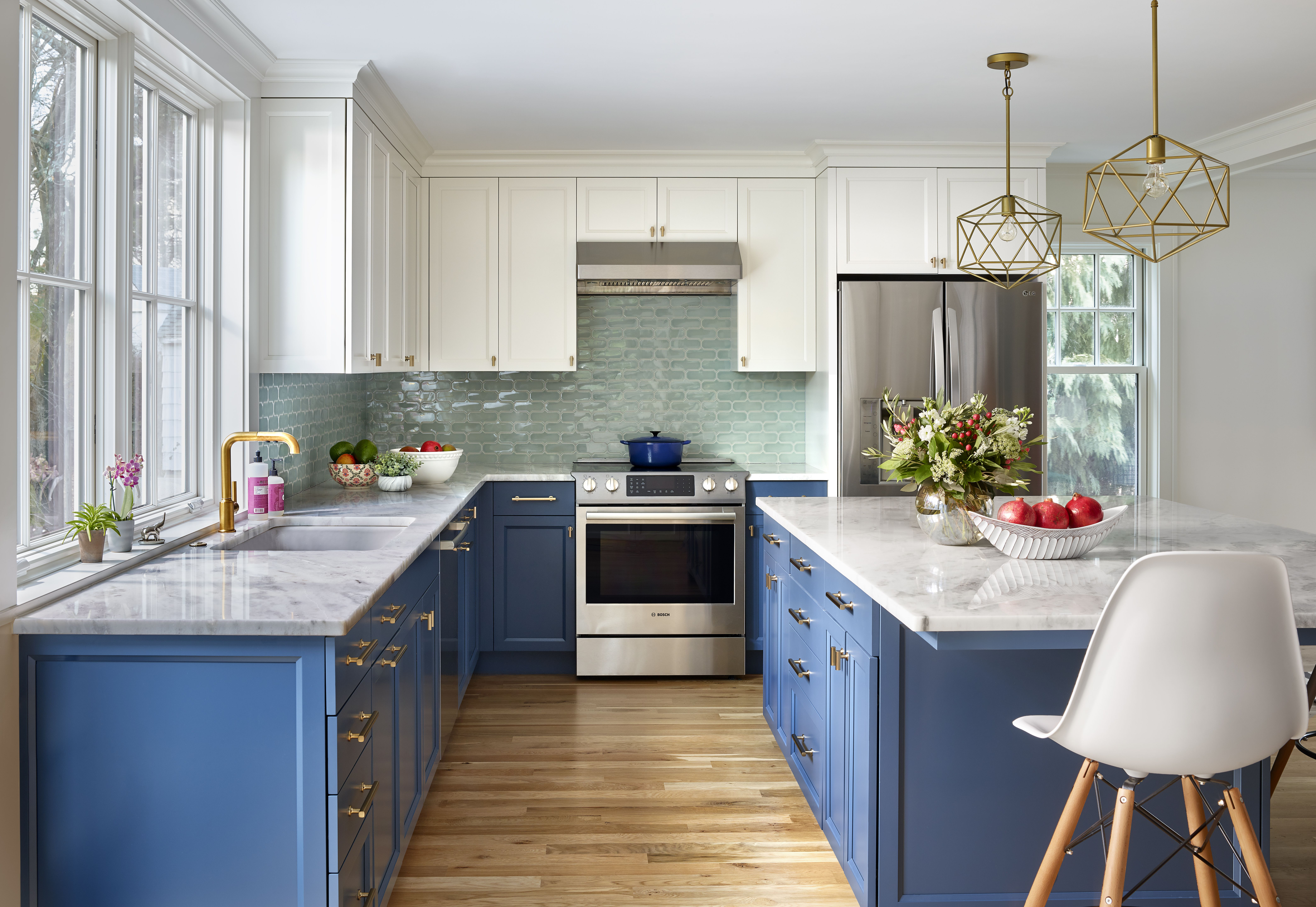 Home Design Ideas: How To Make Color Work In An Open Kitchen - The Boston Globe