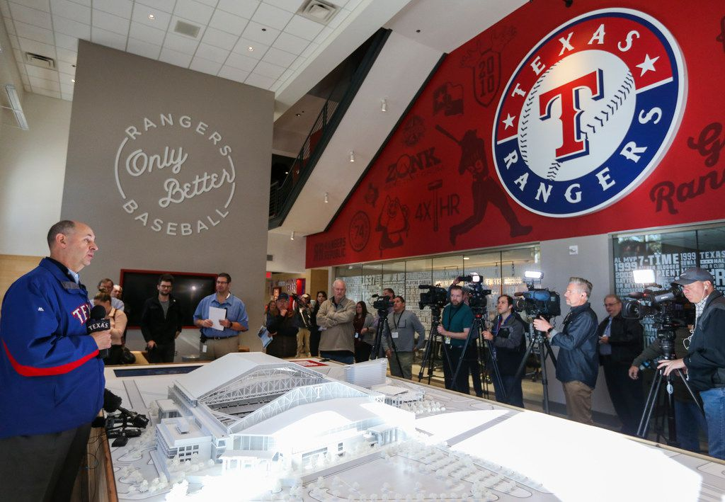 Arlington Tx News >> Check Out What Rangers New Ballpark Will Look Like In
