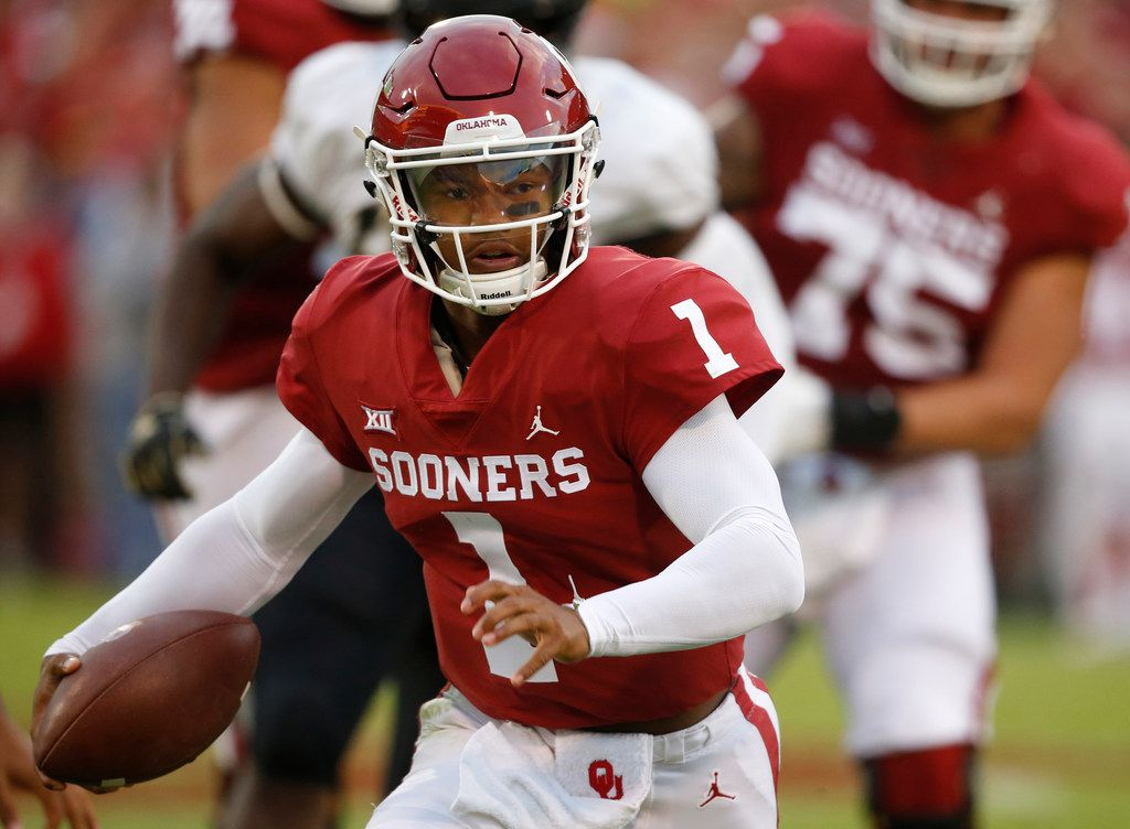 Oklahoma QB and Heisman Trophy candidate Kyler Murray does