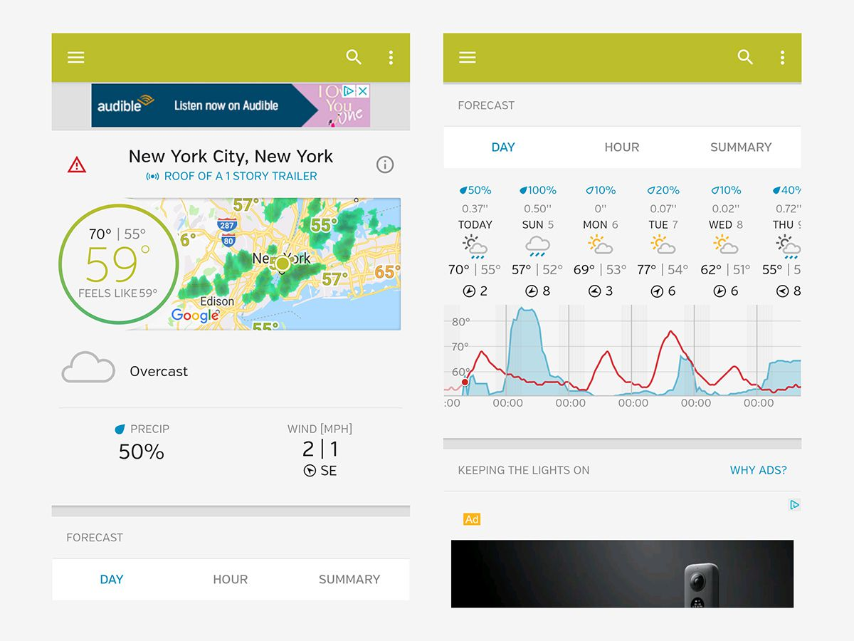 The best weather apps you can put on your phone | Popular