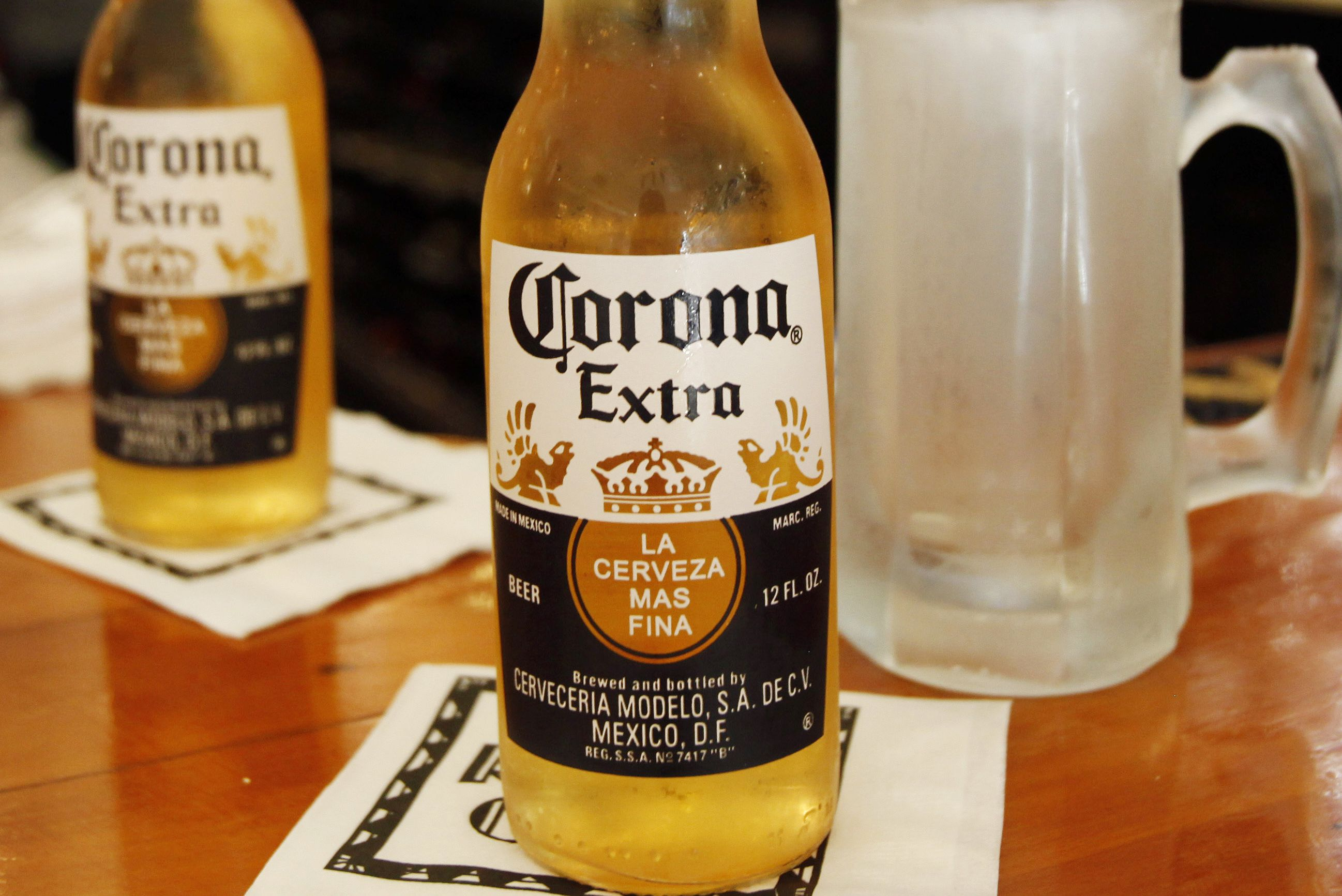 what company owns corona beer