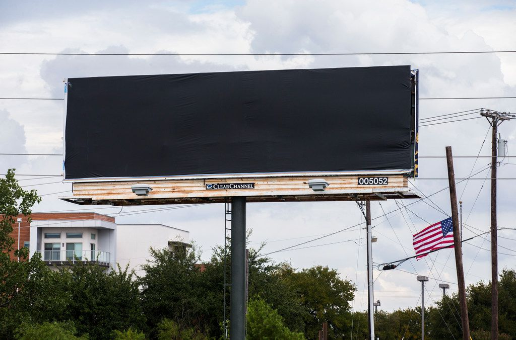 A Plano billboard about 'Dr  Death' disappeared hours after