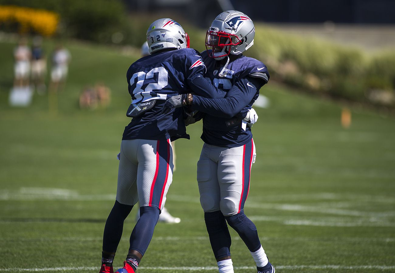 quality design d51f2 aaab6 Day 12: Patriots secondary is in prime form - The Boston Globe